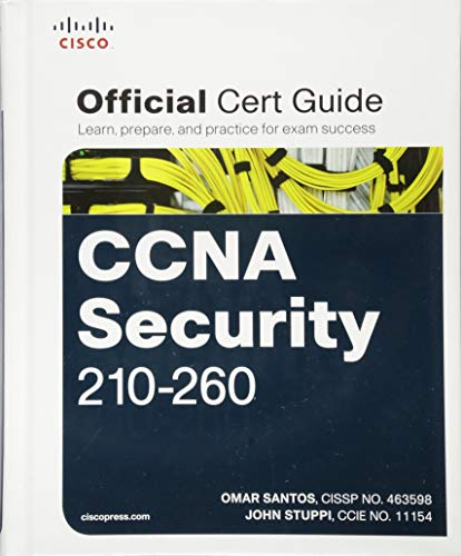 CCNA Security 210-260 Official Cert Guide By Omar Santos