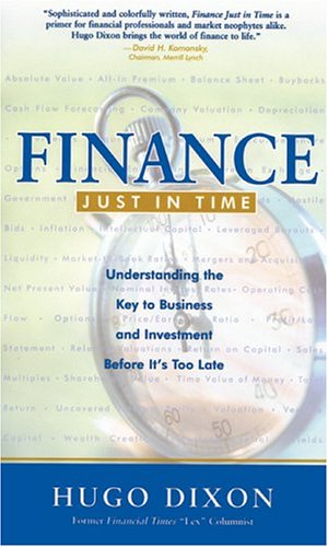 Finance Just in Time By Hugo Dixon