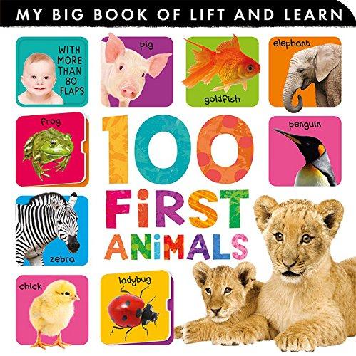100 First Animals von Tiger Tales