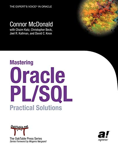 Mastering Oracle PL/SQL : Practical Solutions By Katz Chaim