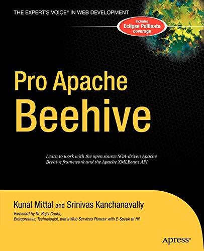 Pro Apache Beehive (Expert's Choice) By Srinivas Kanchanavally
