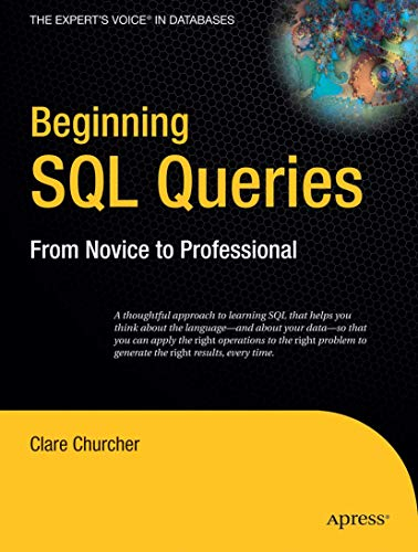 Beginning SQL Queries By Clare Churcher