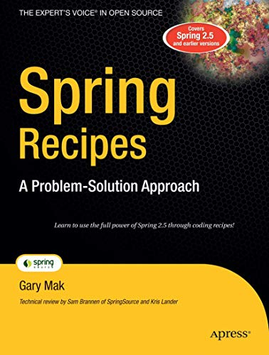 Spring Recipes: A Problem-solution Approach by Gary Mak