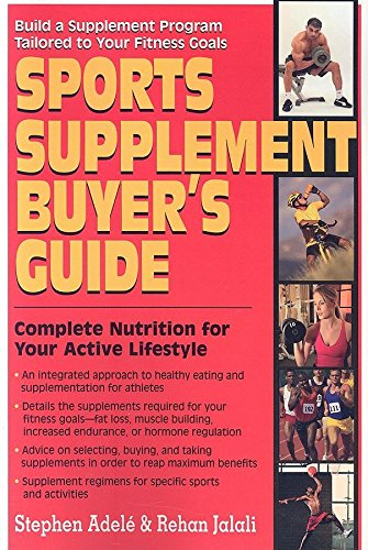 Sports Supplement Buyers Guide By Rehan Jalali (Rehan Jalali)