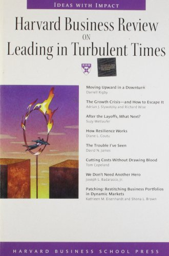 """Harvard Business Review"" on Leading in Turbulent Times by Harvard Business Review"