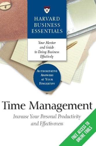 Time Management By Harvard Business School Press