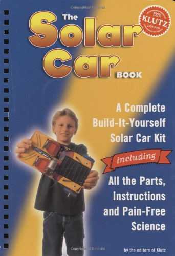 Solar Car Book By Klutz Press
