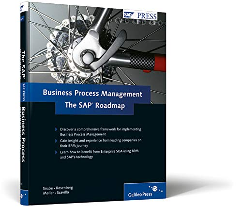 Roadmap to Business Process Management: The SAP Roadmap by J Snabe