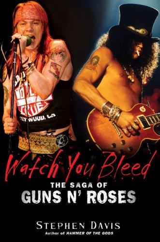 Watch You Bleed von Stephen Davis (Davidson College)