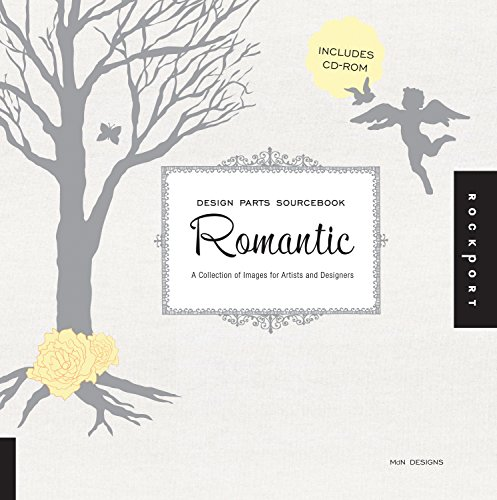 Design Parts Sourcebook: Romantic - Hundreds of Icons, Illustrations, and Letters for Romantically Themed Projects and Designs by MdN Designs