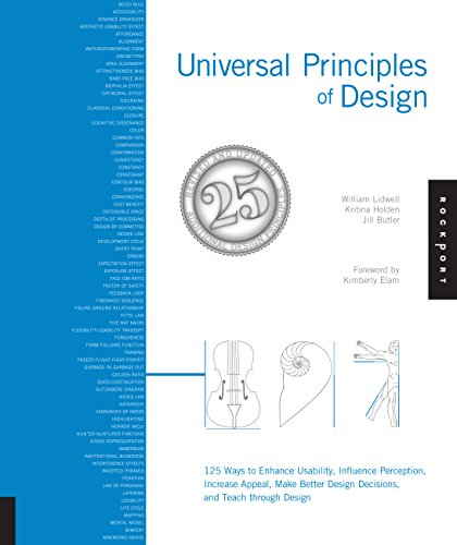 Universal Principles of Design, Revised and Updated: 125 Ways to Enhance Usability, Influence Perception, Increase Appeal, Make Better Design Decisions, and Teach through Design By William Lidwell