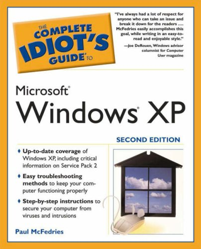 Complete Idiot's Guide to Windows XP (Complete Idiot's Guides (Computers)) By Alpha Books