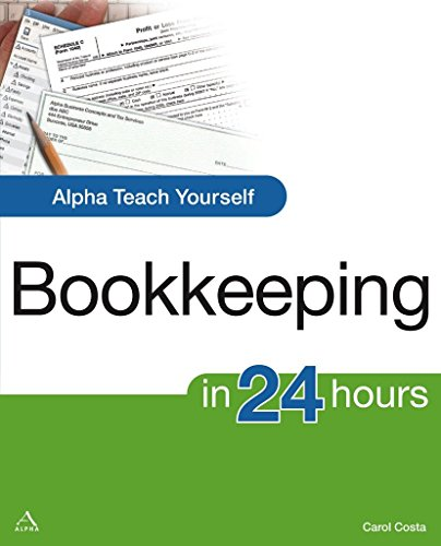 Alpha Teach Yourself Bookkeeping in 24 Hours By Carol Costa