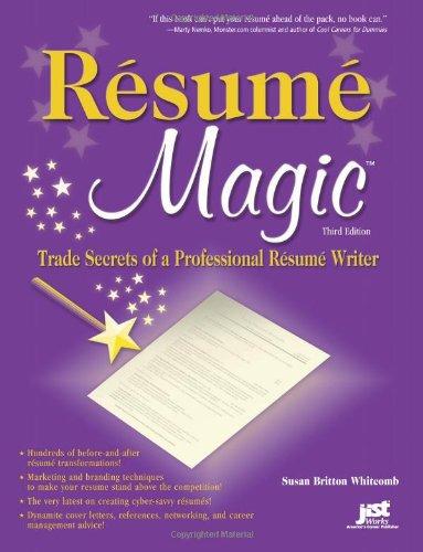 resume magic by susan britton whitcomb