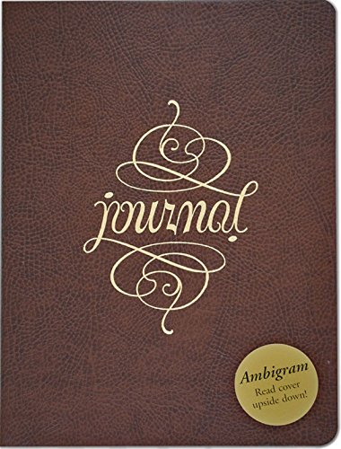Leather Journal Ambigram By Created by Peter Pauper Press