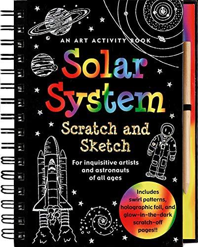 Scratch & Sketch Solar System by Heather Zschock