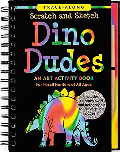 Scratch & Sketch Dino Dudes By Heather Zschock
