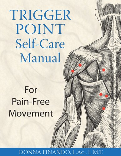 Trigger Point Self-Care Manual: For Pain-Free Movement By Donna Finando (Donna Finando)