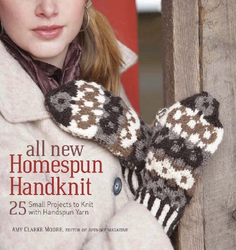 All New Homespun Handknit By Amy Moore