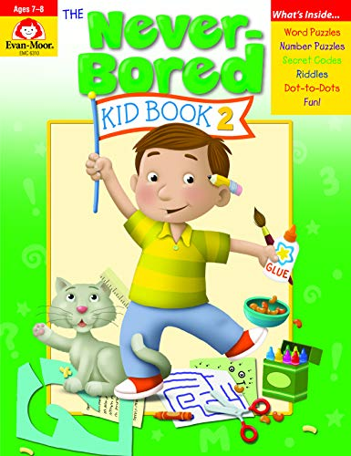 The Never-Bored Kid Book 2 Ages 7-8 By Evan-Moor Educational Publishers