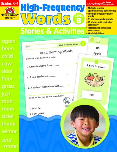 High Frequency Words Stories ACT Level B By Evan-Moor Educational Publishers