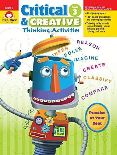 Critical & Creative Thinking ACT Grade 3 By Evan-Moor Educational Publishers
