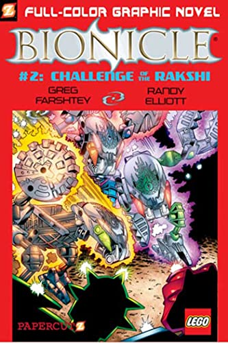 Challenge of the Rahkshi By Greg Farshtey