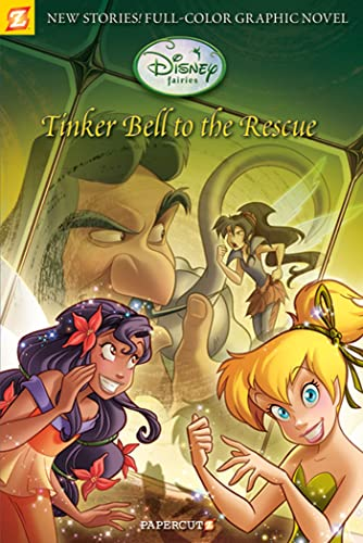 Disney Fairies Graphic Novel #4: Tinker Bell to the Rescue By Paola Mulazzi