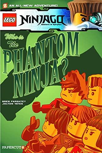 Lego Ninjago #10: The Phantom Ninja von Greg Farshtey