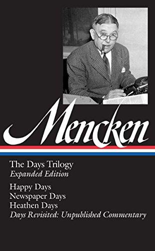 The Days Trilogy von H. L. Mencken