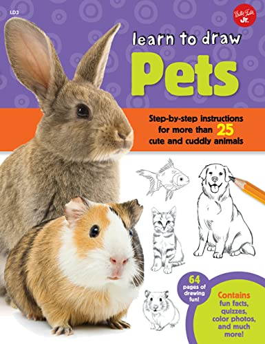 Learn to Draw Pets By Robbin Cuddy