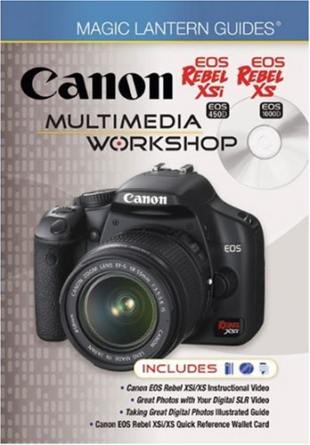 Canon EOS Rebel XSi EOS 450D EOS Rebel XS EOS 1000D Multimedia Workshop by Matt Paden