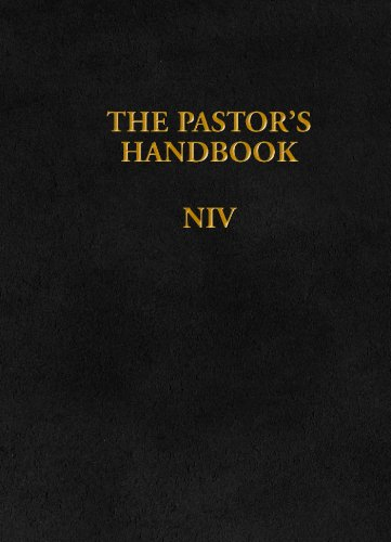 The Pastor's Handbook NIV By Moody Publishers