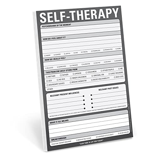 Selftherapy Pad By Knock Knock