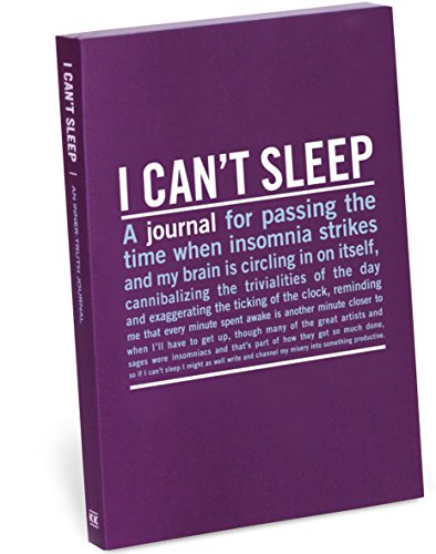 Knock Knock I Can`t Sleep Mini Inner Truth Journal By Created by Knock Knock