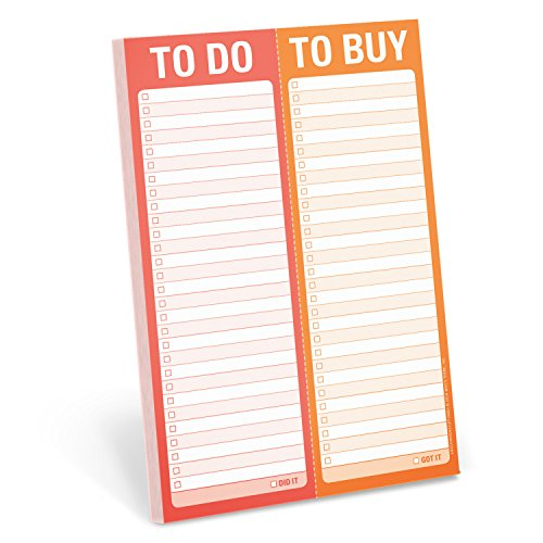 Knock Knock to Do / to Buy Perforated Pad by Knock Knock