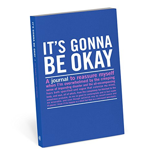 Knock Knock it's Gonna be Okay Mini Inner-Truth Journal by Knock Knock