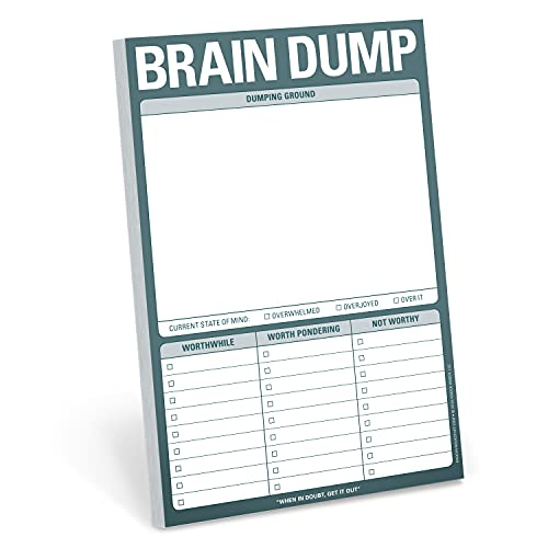 Knock Knock Brain Dump Pad By Other Knock Knock