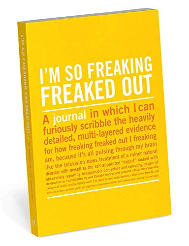 Knock Knock I`m So Freaking Freaked Out Mini Truth Journal By Knock Knock