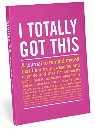 I Totally Got This Inner-Truth Journal (Knock Knock Journal) By Knock Knock