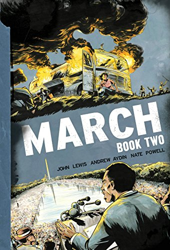 March Book Two By By (artist) Nate Powell