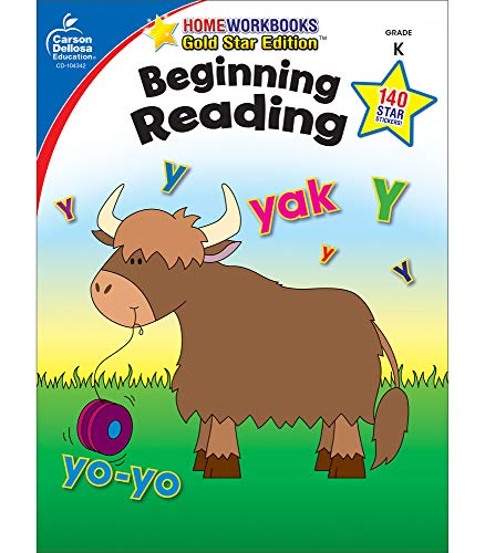 Beginning Reading, Grade K By Compiled by Carson-Dellosa Publishing