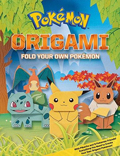 Pokemon Origami: Fold Your Own Pokemon! von Pikachu Press