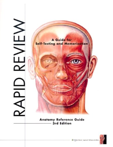 Rapid Review: Anatomy Reference Guide By Prepared for publication by Anatomical Chart Company