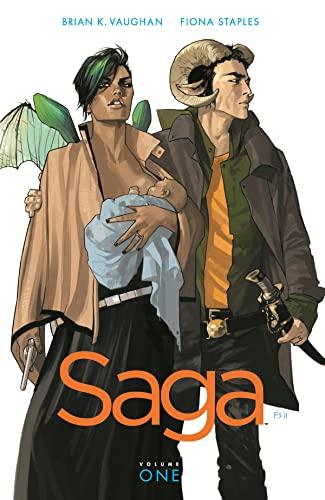 Saga Volume 1 (Saga (Comic Series)) By Brian K. Vaughan