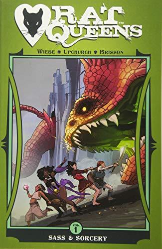 Rat Queens Volume 1: Sass & Sorcery By Kurtis J. Wiebe
