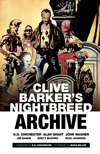 Clive Barker's Nightbreed Archive Vol. 1 By Clive Barker