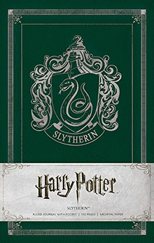 Harry Potter Slytherin Hardcover Ruled Journal By . Warner Bros. Consumer Products Inc.