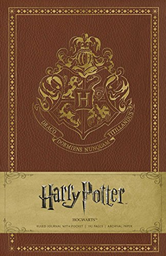 Harry Potter Hogwarts Hardcover Ruled Journal By . Warner Bros. Consumer Products Inc.