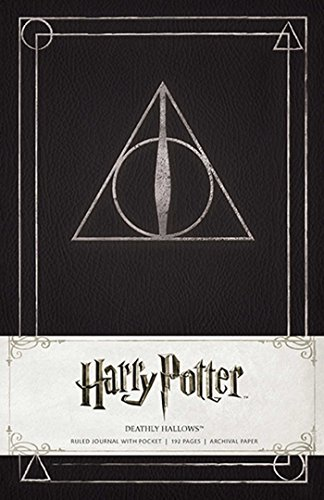 Harry Potter Deathly Hallows Hardcover Ruled Journal By . Warner Bros. Consumer Products Inc.